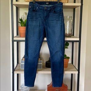Hudson, Natalie Super Skinny Mid Rise Jeans, 29